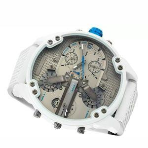 Diesel men's Mr. Daddy 2.0 white and gray Watch